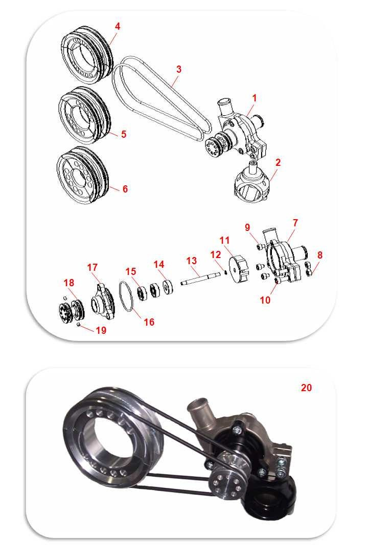 ENGINE MULTI-FITTING COOLING KIT